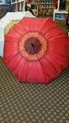 Red Gerbera Umbrella