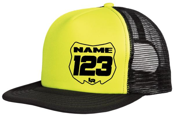Custom Number Plate Trucker Hat  78a0c42a2ad6