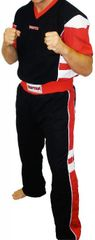 TOP TEN Sparring Uniform Black/Red/White