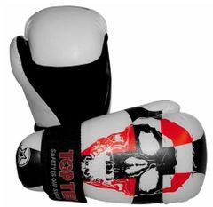 TOP TEN Point Fighter Gloves Skull