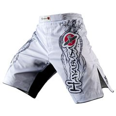 Hayabusa Mizuchi Fight Shorts - White