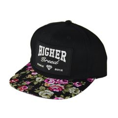 Floral Snapback (Sold Out)