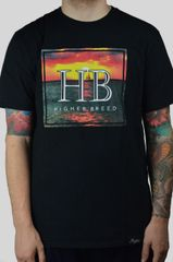 Sunset Tee (Black & White) (Sold Out)
