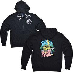 Enjoy the Ride - Zip Up Hooded Sweatshirt (Unisex)