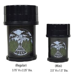 Reefer Ridge Grinder [BLACK] - (Higher Breed x Herbsaver Collab)