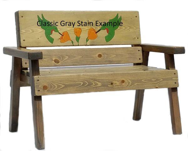 Preschool Graduation Gift Wooden Bench For Kids Indoor