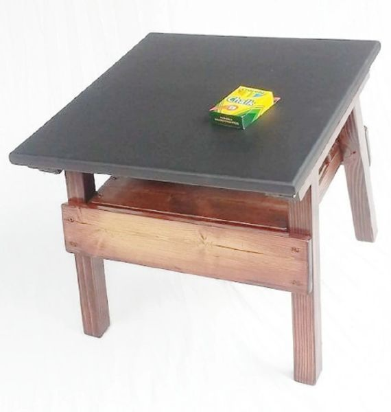 Childrens Furniture Chalkboard Game Table Toddler Boy Or Girl