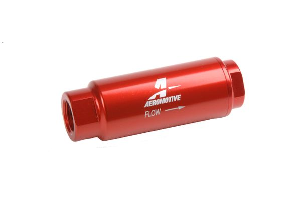 reputable site 31d15 3c4e2 Aeromotive 12303 - 40 Microns, 3/8 in. NPT Female Inlet, Outlet,