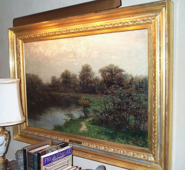 Framed Landscape by Robert Ward Van Boskerck