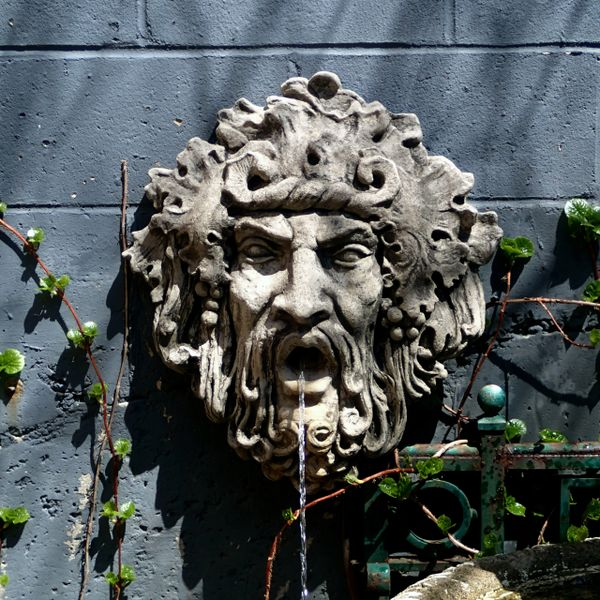 Bacchus Wall Fountain