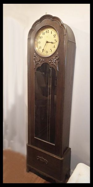 Arts & Crafts Antique Grandmother's Clock