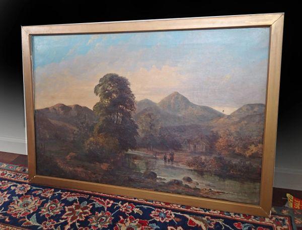 Landscape by Charles Samuel Keene