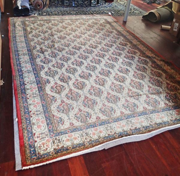 Finely Woven Persian Qum