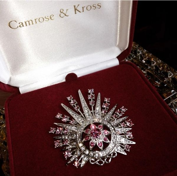 Camrose & Kross Sterling Broach from the Jackie Kennedy Jewelry Collection
