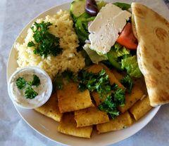 CHICKEN GYRO SLICE PLATE