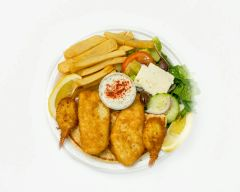 FISH AND SHRIMP PLATE