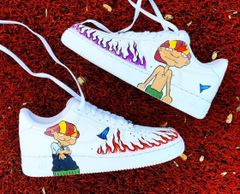 2dff6b444eda Hand Painted Air Force 1 s Choose any 2 characters