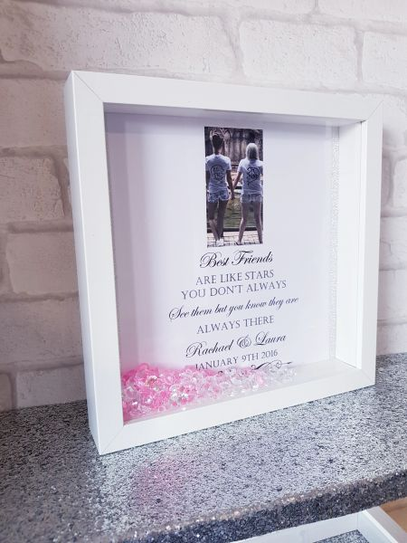 best friends quote box frame | Kayleighs Keepsakes