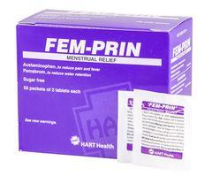 FEM-PRIN MENSTRUAL RELIEF 50/2'S BOX