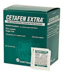 CETAFEN EXTRA NON-ASPIRIN 125/2S BOX