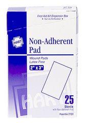 """NON-ADHERENT PADS 2""""X3"""", 25/BOX"""
