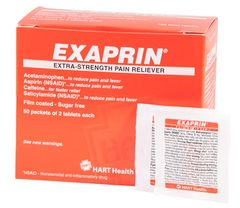 EXAPRIN PAIN RELIEVER 50/2S BOX