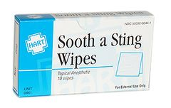 SOOTH A STING WIPES, HART, 10/UNIT
