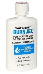 WATER-JEL BURN GEL, 4 OZ BOTTLE