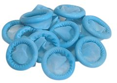 FINGER COTS, LATEX, BLUE, LARGE, 48CT