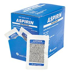 ASPIRIN PAIN RELIEVER 50/2'S BOX