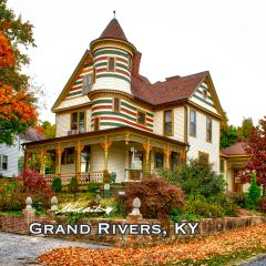 Victorian Home Grand Rivers, KY