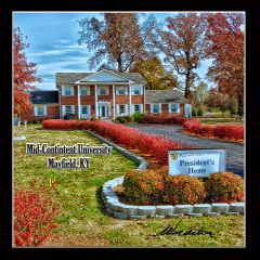 Coaster: Mid-Continent University President Home 004, Mayfield, KY