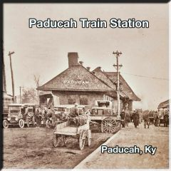 Paducah KY Vintage Train Station