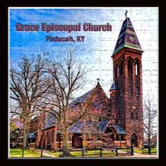 Grace Episcopal Church - crosshatch, Paducah, Kentucky