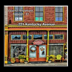 221 Kentucky Colorful Storefront Paducah, Kentucky