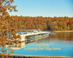 Colorful Kentucky Dam Marina