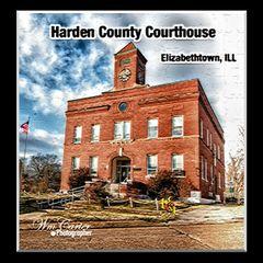 Harden County Courthouse Elizabethtown, ILL