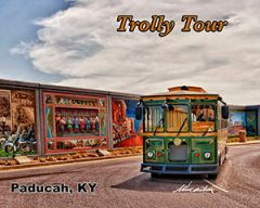 Trolly Tour along the River Paducah, Kentucky