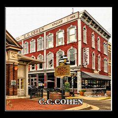 C.C. Cohen Building-craquelure, Paducah, Kentucky