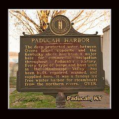 Historic Marker: #1161-2 Paducah Harbor, Paducah, KY