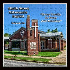 Ninth Street Baptist Tabernacle - crosshatch, Paducah, Kentucky