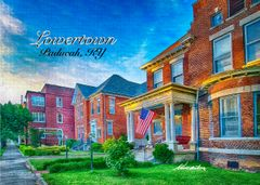 Picturesque 200 block of 7th Street Lowertown Paducah, KY