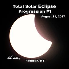 Total Solar Eclipse Progression Paducah, KY