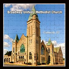 Broadway United Methodist Church-crosshatch, Paducah, Kentucky