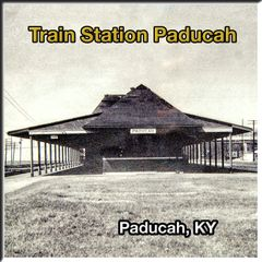 Paducah KY Union Train Station