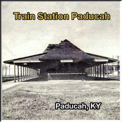 Paducah KY Union Train Station