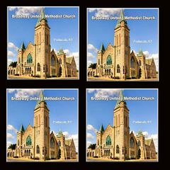 Broadway United Methodist Church Paducah, Kentucky. Set of 4