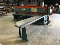 "USED CINCINNATI 12' X 1/4"" MECHANICAL POWER SQUARING SHEAR"