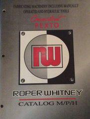 Roper Pexto Catalog Booklet