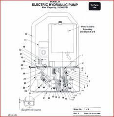 PEXTO HP-501 ELECTRIC HYD. PUMP BOOK